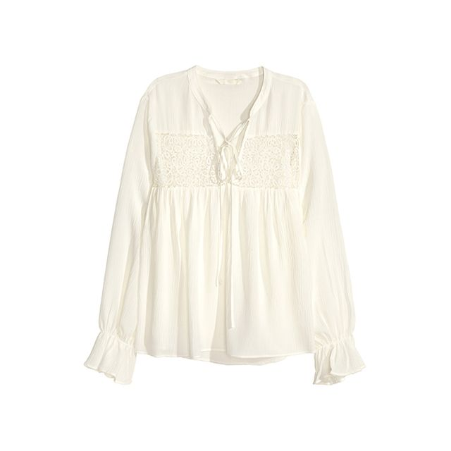 H&M Blouse with Lace