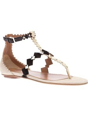 Alaia  Gem Sandals