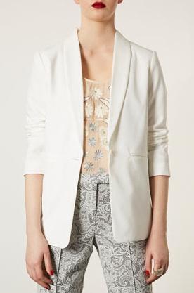 Topshop Slim Line Jacket
