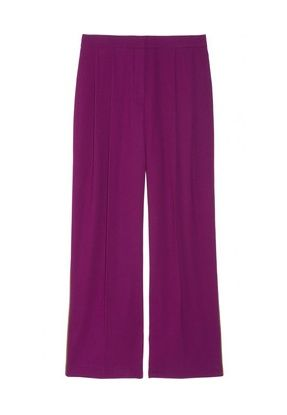 The Row Pattson Wool-Crepe Wide-Leg Pants