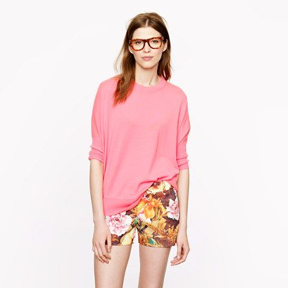 J.Crew   Desert Floral Shorts