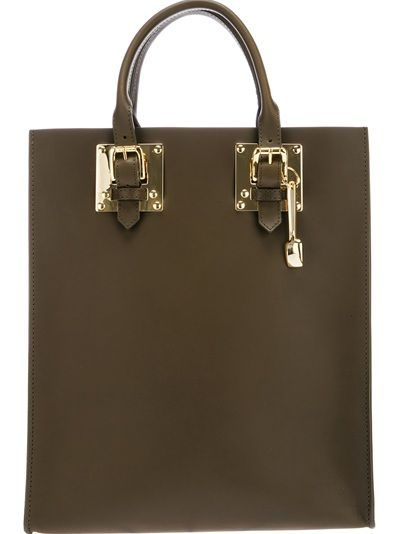 Sophie Hulme Structured Tote Bag