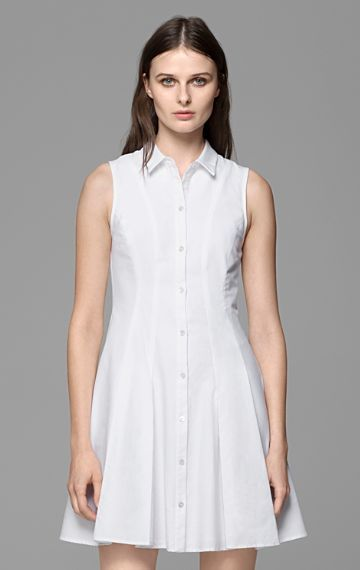 Theory Geniada Stretch Cotton Dress
