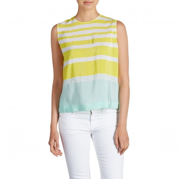 Equipment Reagan Striped Blouse