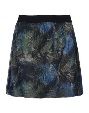 Theyskens' Theory  Multicolor Patten Mini Skirt