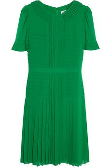 Alice by Alice Temperley Kyoto Pleated Crepe Dress