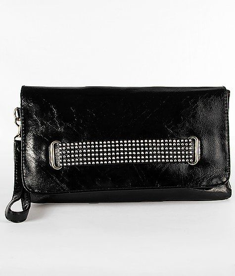 Buckle Foldover Clutch