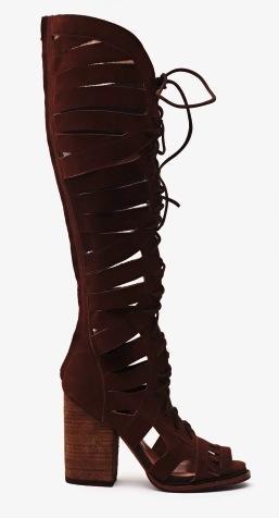 Nasty Gal  Nasty Gal Lupita Knee High Boots