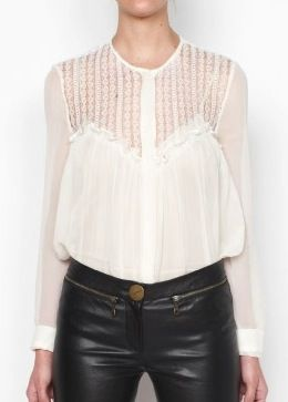 Lover  Lover Shadow Lace Blouse