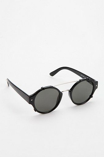 Spitfire Flick Round Sunglasses