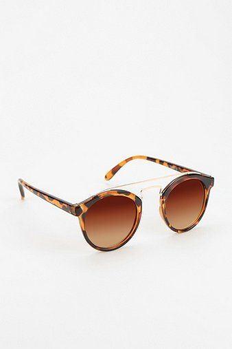 Urban Outfitters Arched Metal Mix Sunglasses