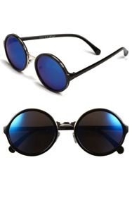 A.J. Morgan  52mm Retro Round Sunglasses