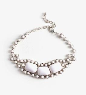 Nasty Gal Nasty Gal Moon Stone Bracelet