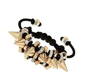 Topshop Topshop Spikes and Bolts Bracelet