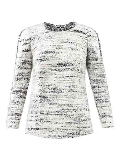 Isabel Marant Ivana Boiled Wool Sweater