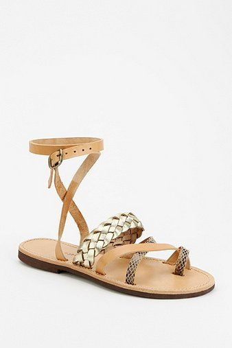 Isapera Lemonia  Ankle Wrap Sandals
