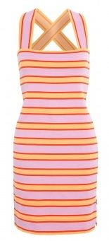 Sonia by Sonia Rykiel  Jersey Striped Dress