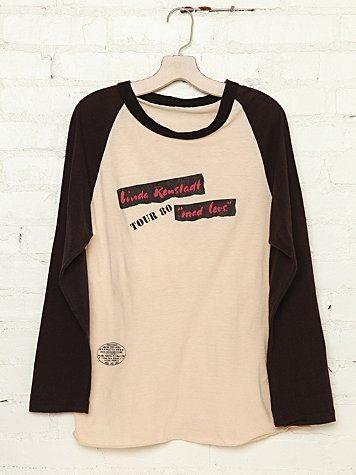 Free People  Vintage Linda Ronstadt Tee