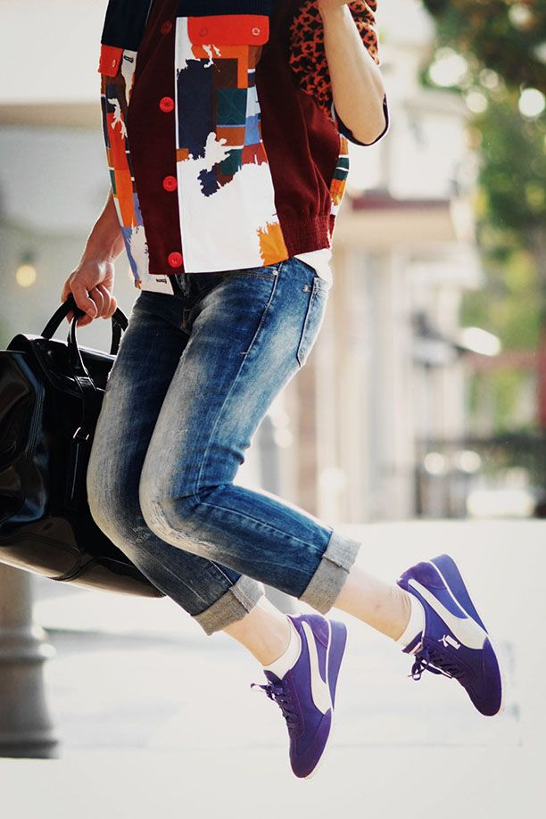 Sport Authority: Bloggers Test-Drive Puma's Caroline Wedge Sneakers