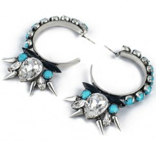 Fallon  Fallon Roswell Microspike Hoop Earrings