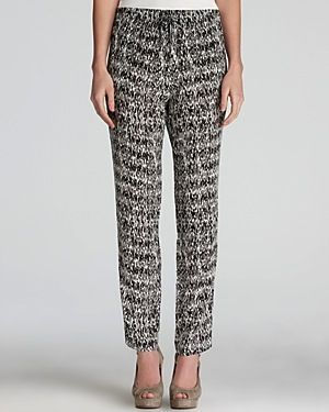 Gerard Darel  Straight Leg Printed Pants