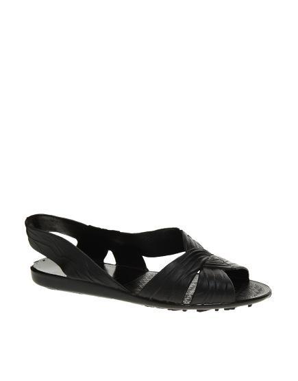 Juju  Fergie Black Slingback Sandals