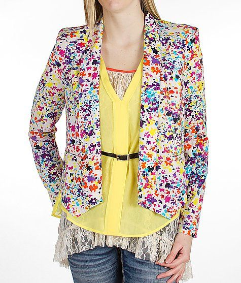 Jessica Simpson  Floral Blazer