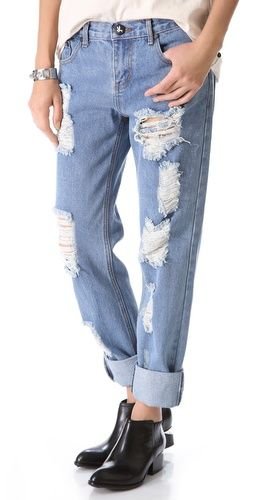 One Teaspoon  Desperado Awesome Boyfriend Jeans