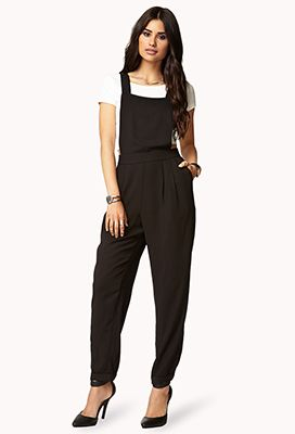 Forever 21  Sleek Overall Jumpsuit