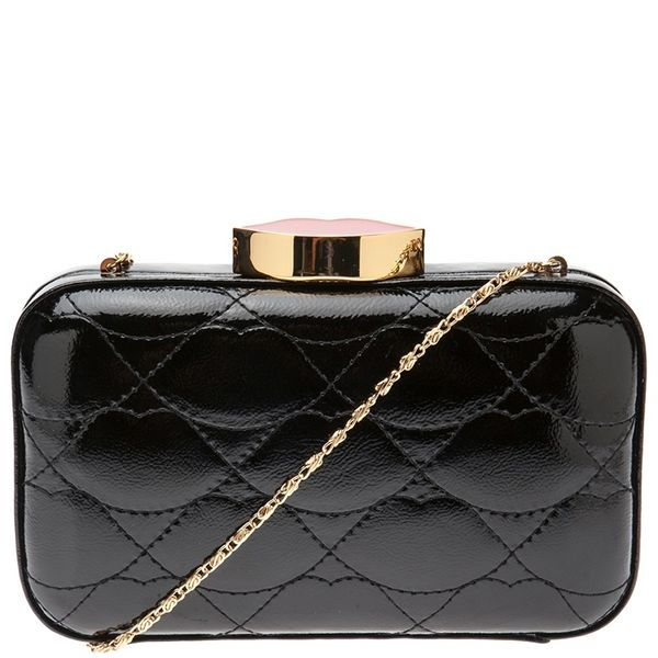 Lulu Guinness Small Patent Leather Clutch