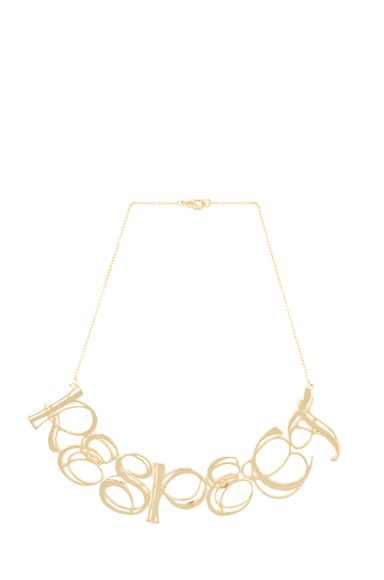Tom Binns Uber Urban Respect Necklace
