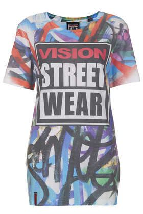 Vision Streetwear Graffiti Print Tee