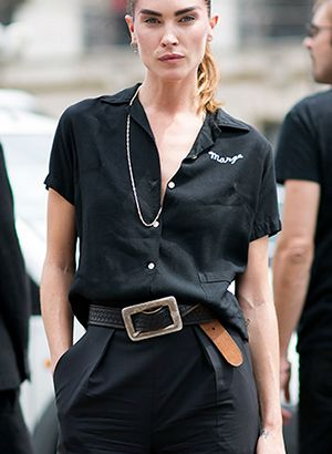The Easy & Stylish Belt Trick You Need To Try This Week