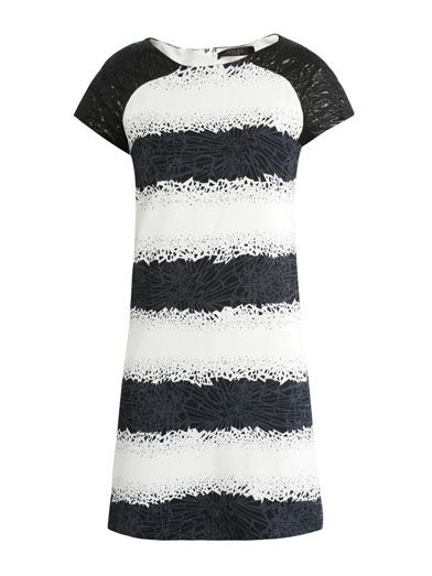 Giles  Broken Jewelery-Print Shift Dress