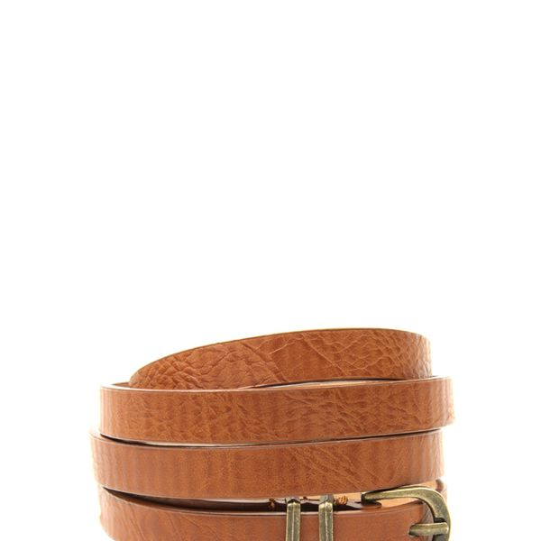 ASOS Metal Keeper Super Skinny Waist Belt