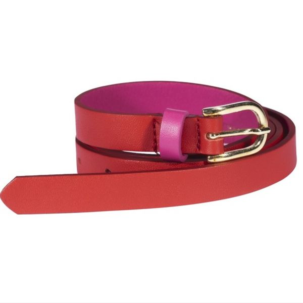 Maison Boinet Two-Toned Leather Belt