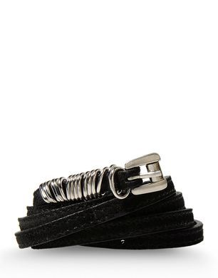 Ann Demeulemeester Sueded Leather Belt