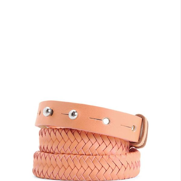 Rag & Bone Braided D-Ring Belt