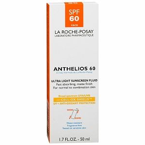 La Roche Posay  Anthelios 60 Ultra Light Sunscreen Fluid for Face