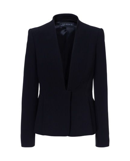Zara  Pleated Jacket