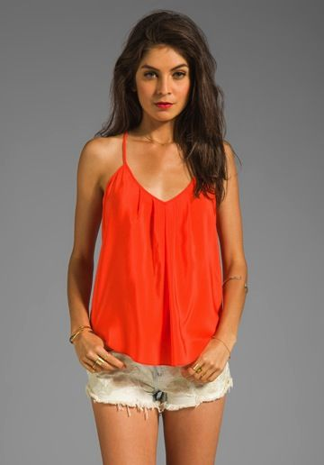 Amanda Uprichard  Button Back Cami