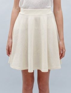 Creatures of Comfort  Jersey Circle Skirt