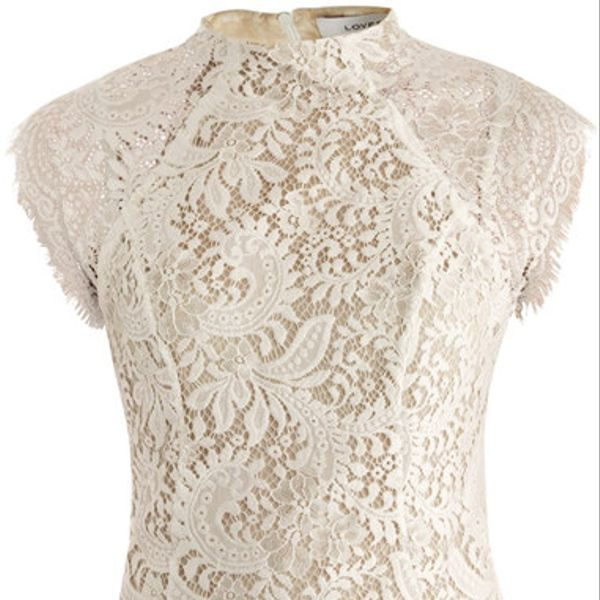 Lover  White Lace Sara Top
