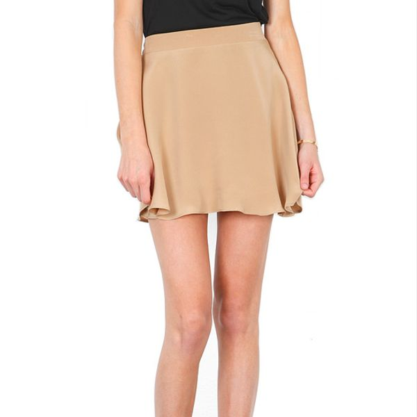 Naven  Circle Skirt in Tan