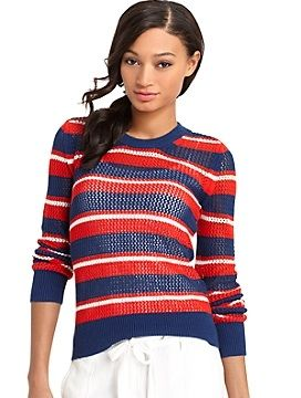 Tommy Hilfiger  Open Stitch Sweater