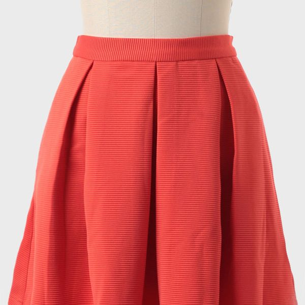 Ruche  Tea in Vienna Pleated Skirt