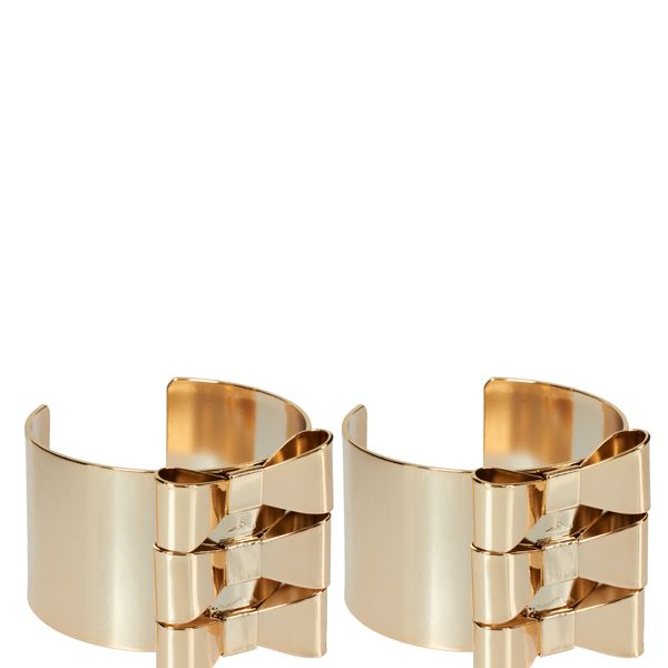 ASOS  Pack of Two Bow Cuff Bracelets