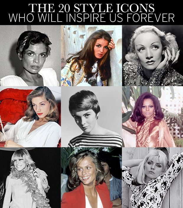 Top 20 Fashion Icons--From Marilyn to Madonna And More!