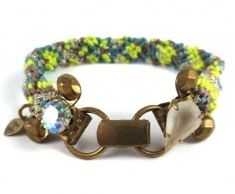 Frieda & Nellie Frieda & Nellie Fields of Clovers Bracelet