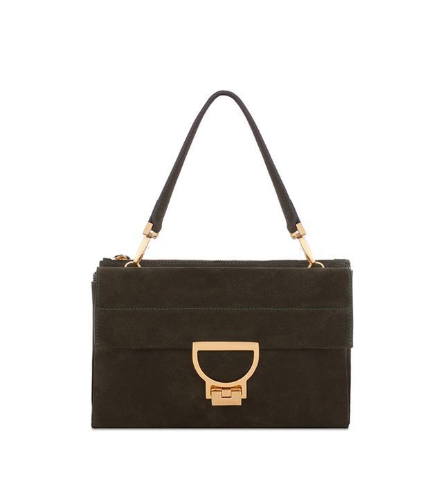 Coccinelle Arlettis Shoulder Bag in Suede